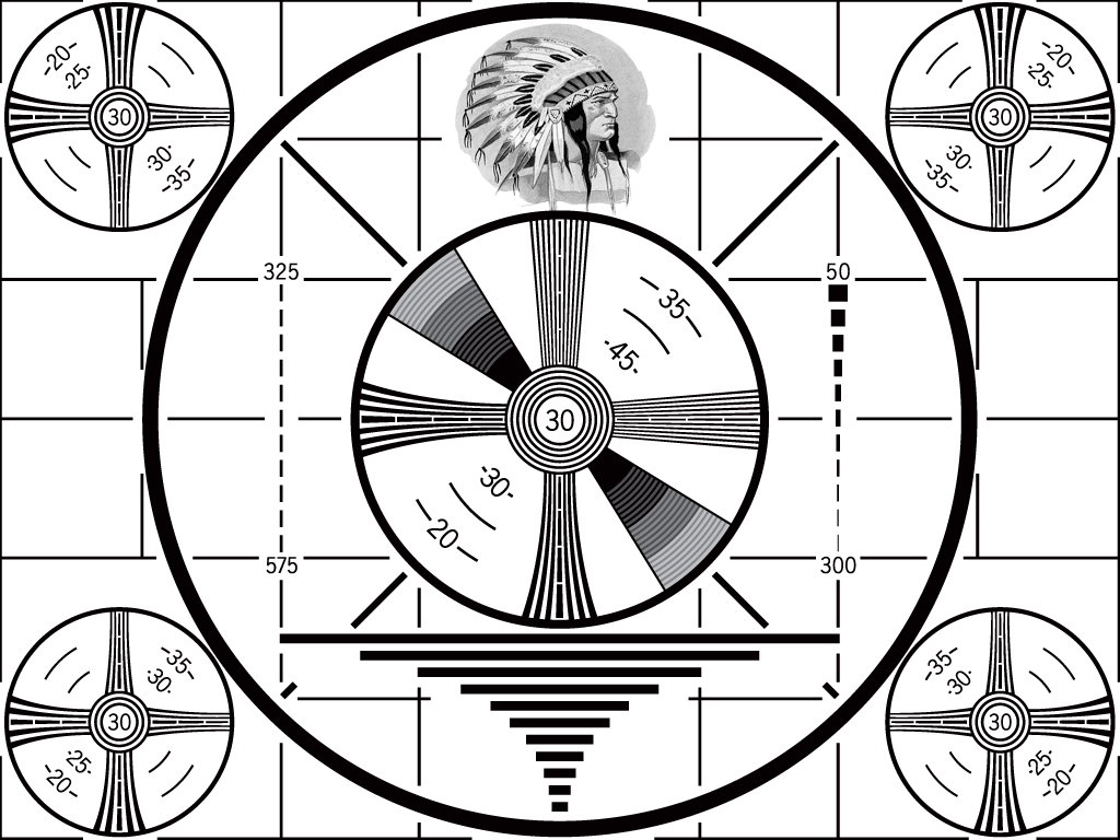 RCA Test Pattern